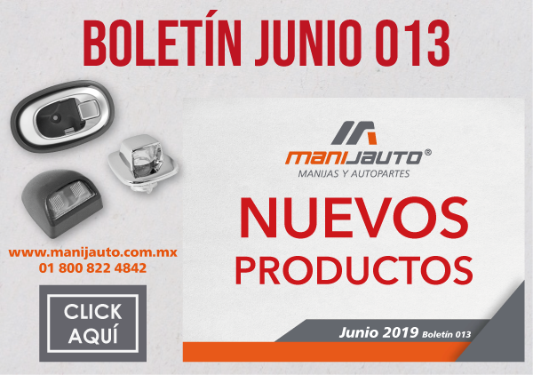 Boletin productos 13 Nuevos-Manijauto