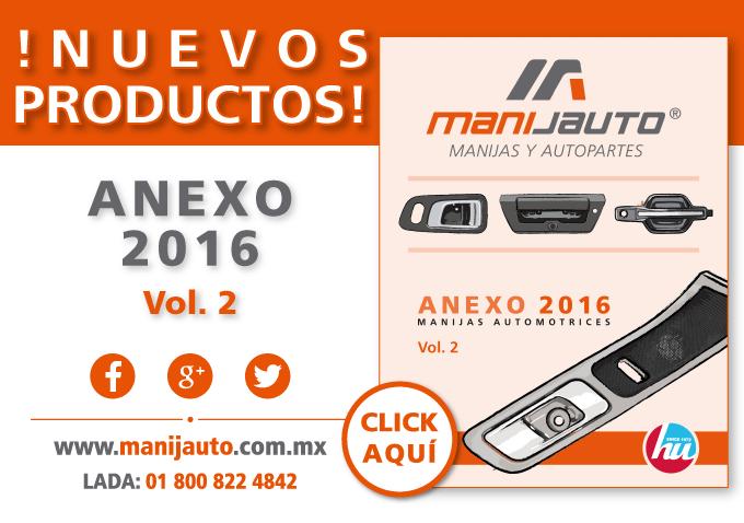 Manijas automotrices Anexo Vol 2