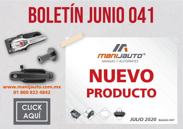 Boletin productos 12 Nuevos-Manijauto