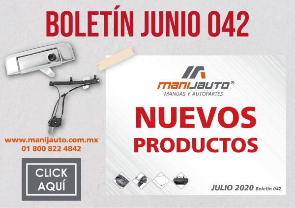 Boletin productos 42 Nuevos-Manijauto
